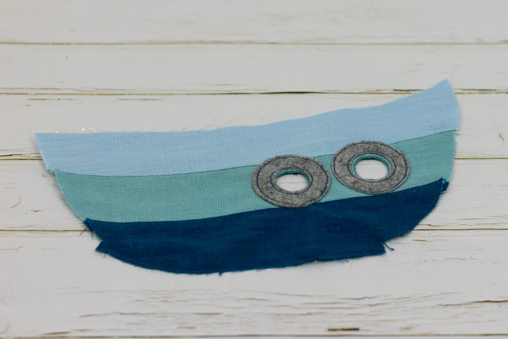 Knistertuch Knisterschiff nähen – Schnittmuster kostenlos