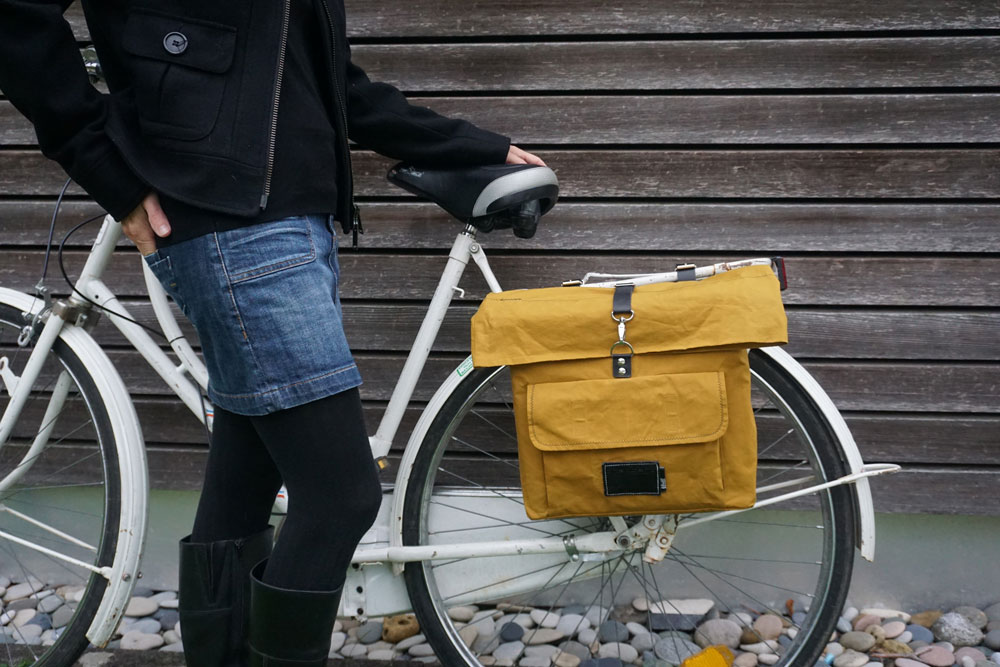 Vintage Fahrradtasche nähen – Schnittmuster kostenlos