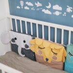Kostenloses Schnittmuster: Süße Babybett-Umrandung mit Tieren