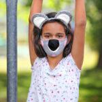 Koala-Maske mit Haarreif – kostenloses Schnittmuster
