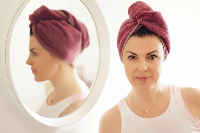 Turban-Handtuch und Haarband nähen – Schnittmuster kostenlos