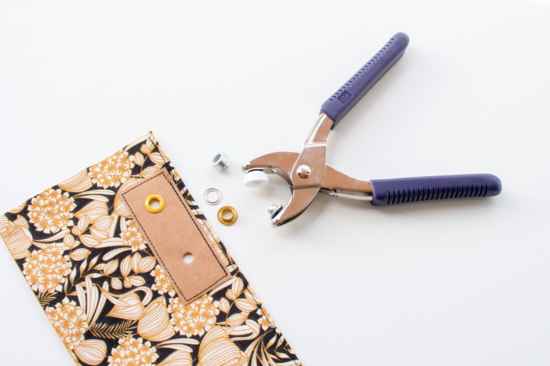 Handarbeitstasche Prue nähen – Schnittmuster kostenlos