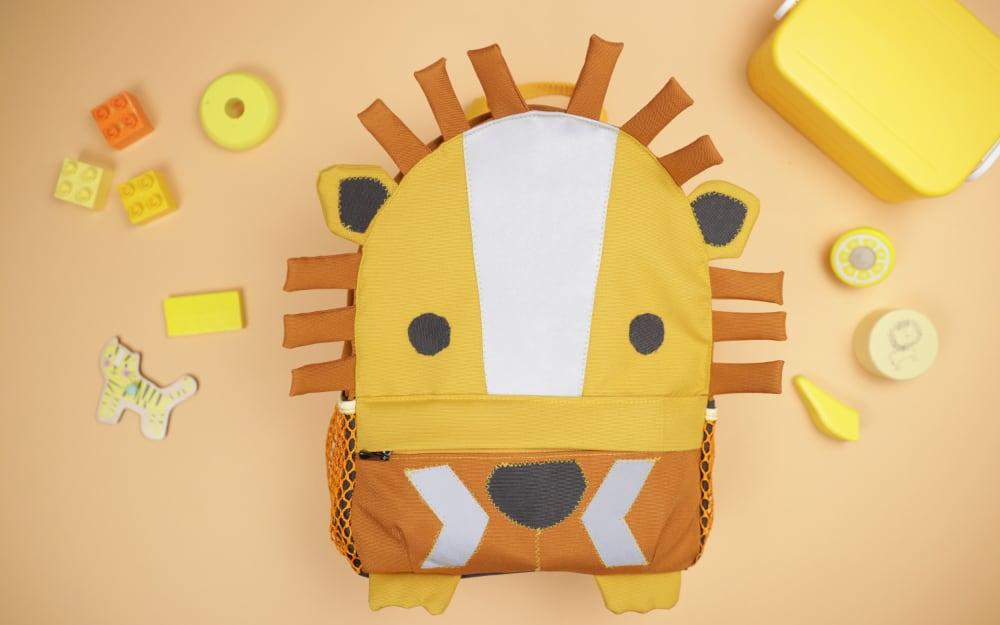 Kinderrucksack Leo nähen  – Schnittmuster kostenlos