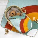 Musselindecke nähen inkl. Puppendecke – kostenloses Schnittmuster
